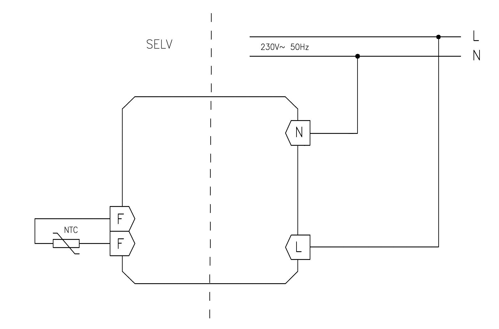 UA070001 Circuit diagram