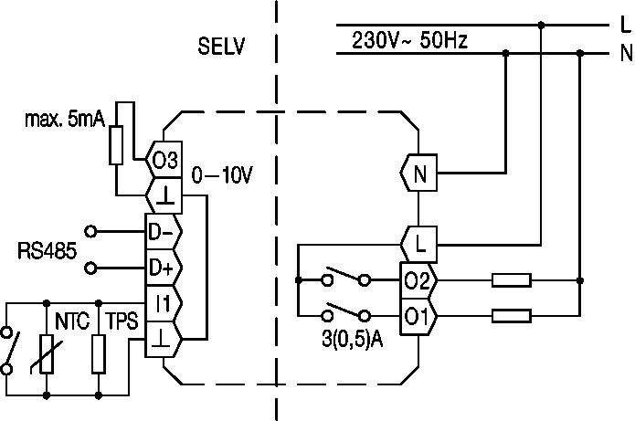 UA230002 Circuit diagram